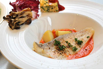 fish tomato souceLunch